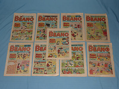 Beano Comics - 1986/1987/1988 - 9 Issues