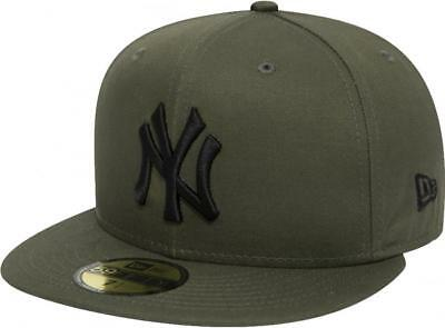 New Era New York Yankees League Essential Olive Cap 59fifty Fitted Limited