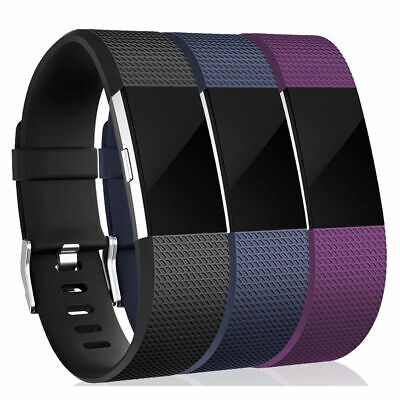 Fitbit Charge 2 Small Replacement Bracelet Watch Band Heart Rate Fitness 3 PACK