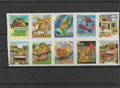 New Zealand 2000 Kiwiana Set Sheetlet of 10 MNH
