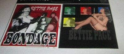 Bettie Page Sticker New 2009 Vintage Oop Rare Collectible