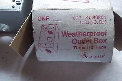 Mulberry 30201 Weather Proof outlet box