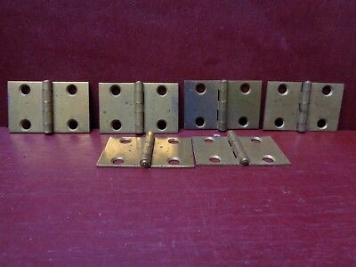 6 More Available Vintage Small Shutter Trinket Box Small Cabinet Door Hinges #0