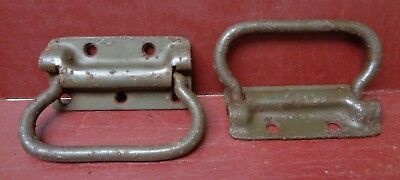 CAST IRON DOOR WINDOW TOOLBOX HANDLE #19 1 MORE AVAILABLE ANTIQUE LARGE INDUST