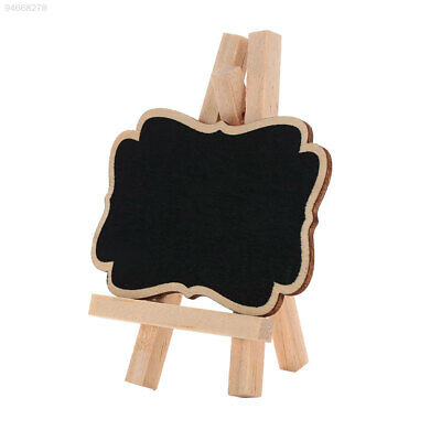 D36F Blackboard Chalkboards Practice Wooden Decoration Wedding Chalkboard Mini