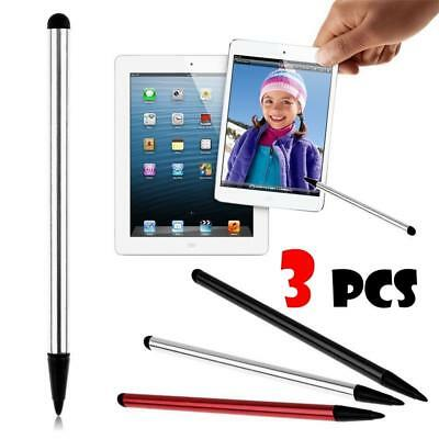 3PCS Universal Touch Screen Capacitive Stylus Ball Pens For iPhone iPad Samsung