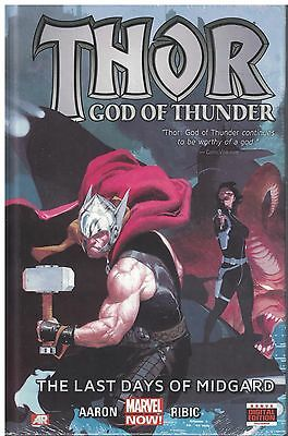 Thor God of Thunder  HC  The Last days of Midgard  New Sealed  30% OFF