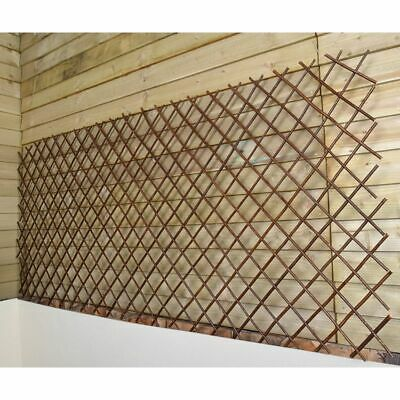 Greenfingers Expanding Plant Support Willow Trellis Garden Screening 90 x 180cm