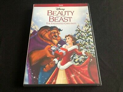 Beauty And The Beast The Enchanted Christmas No Digital Disney Oop
