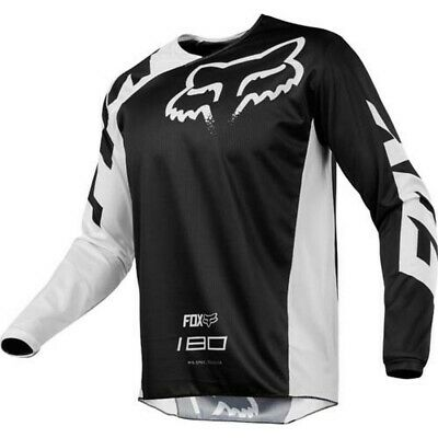 Fox Racing 180 Race Black Offroad MX Motocross Race Jersey Adults Small