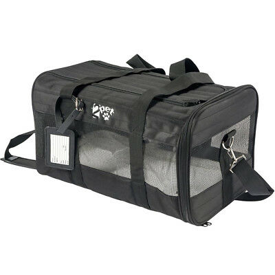 2PET Airline Pet Carrier Under Seat - Perfect Soft Sided Pet Kennel for Small