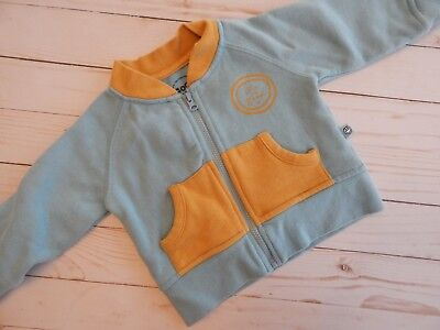 "CUTE Baby Boy {GOOD KIDS by LIFE IS GOOD} Zip Up Sweatshirt Top ""Little Peanut"""