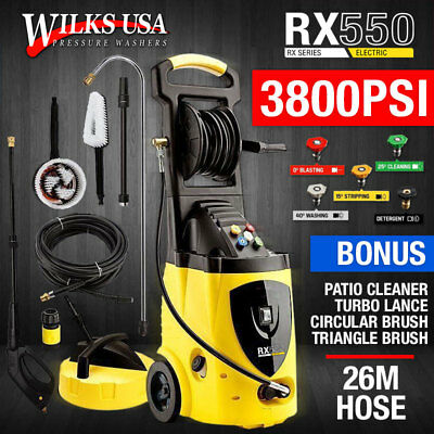 Electric Pressure Washer - 3800PSI Power Induction Jet - Wilks-USA RX550 (AU245)