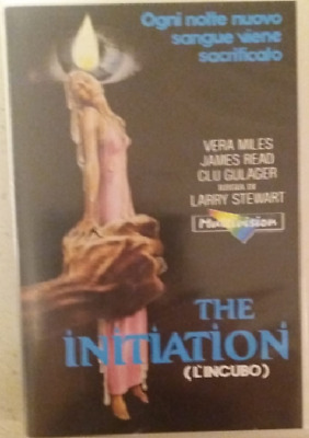 vhs - THE INITIATION - L'INCUBO