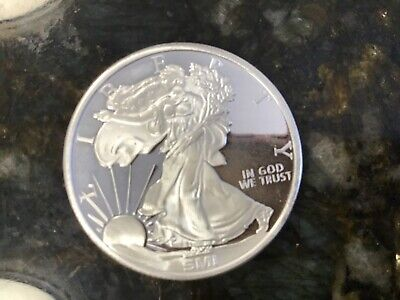"""1oz silver round"""" Walking Liberty"""" ships 1.99 each after 1st coin"""