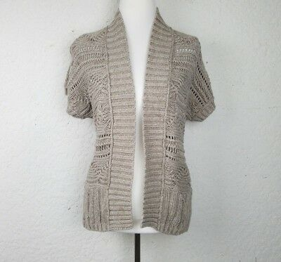 b4810af3a ANN TAYLOR LOFT Lounge Open Front Knit Cardigan Sweater Long Sleeves ...