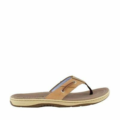 86f44f52d8e NEW SPERRY BAITFISH Thong Brown Buc Brown Mens Shoes Casual Sandals ...
