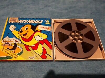 """Mighty Mouse """"At The Circus"""" Super 8MM Film"""