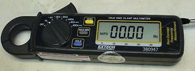 Extech 380947 True RMS Clamp Multimeter Non-Contact Frequency Measurement