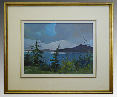 Donald Applebe Smith MSA Listed Canadian School Howe Sound BC Vancouver Acrylic