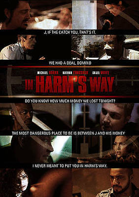 In Harm's Way (DVD) LIKE NEW DISC + COVER ARTWORK - NO CASE