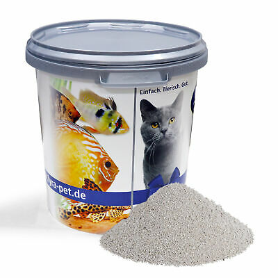 30 kg Lyra Pet Cats Power Grau Katzenstreu Klumpstreu Staubarm in 30 L Tonne