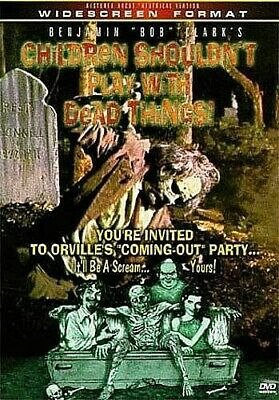 Children Shouldn't Play with Dead Things (DVD) LN DISC + COVER ARTWORK - NO CASE