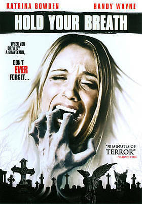 Hold Your Breath (DVD) LIKE NEW DISC + COVER ARTWORK - NO CASE