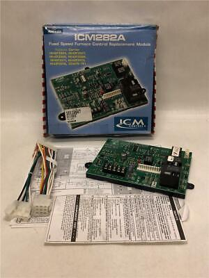 ICM ICM282A Fixed Speed Furnace Control Replacement Module 98-132VAC @ 60Hz