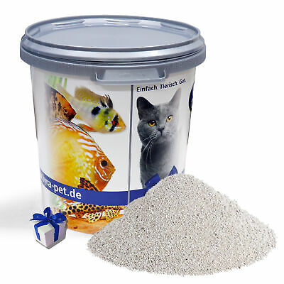 30 L Lyra Pet Cats Power Katzenstreu Babypuderduft Plus in 30 L Tonne + Geschenk