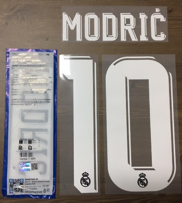 NUMERO SHORT REAL MADRID AWAY//3RD FLOCAGE TRANSFERT SPORTING ID 17-18 NUMBER
