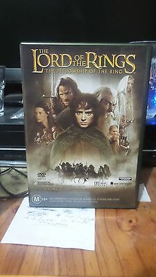 Lord of The Rings - Fellowship of The Ring. DVD.