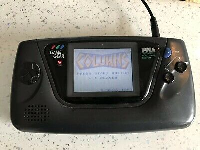 Sega Game Gear console Recapped And Game