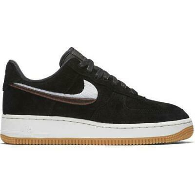 new product 278f0 01104 Femmes Nike Air Force 1 07 LX Baskets Noires 898889 010