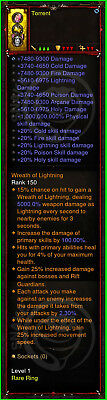 Diablo 3 Ps4 - Xbox One - Modded Ring For GRifts 150 With Elemental Damage