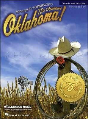 Oklahoma Vocal Selections Revised Piano Sheet Music Book SAME DAY DISPATCH