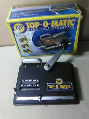Used Top-O-Matic Cigarette Rolling Machine With New Rubber Back on it.