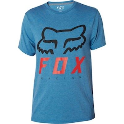 Maglia Fox HERITAGE FORGER SS TECH TEE HTR BLU Tg. M