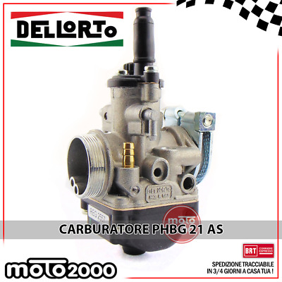 MINARELLI AM 3-6 02557 CARBURATORE DELL/'ORTO PHBG 21 AS APRILIA RS 50 2T LC