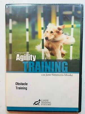 Competitive Agility Obstacle Training (DVD) Canine Training Systems Dog How-To +