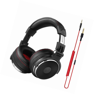 OneOdio Adapter-free Closed-Back DJ Studio Headphones for Monitoring and Mixing,