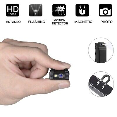 Mini Spia Telecamera Full HD Video Nascosta DVR Spy Camera Infrarossi Micro DV