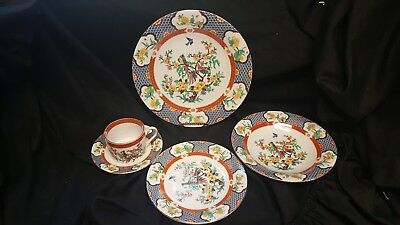 LiLing China Imperial Garden 1 - 5 Piece Setting (s) 8 Available