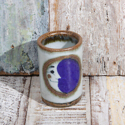 Mexican Stoneware Tequila Shot Moon