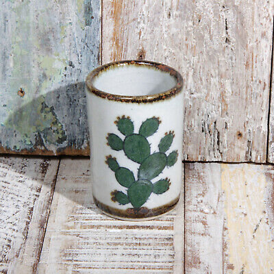Mexican Stoneware Tequila Shot Cactus