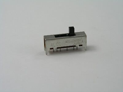 25 pcs  SP5T Slide Switch, Alcoswitch MHS-90709F