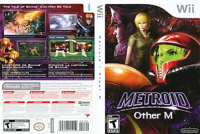 Nintendo Wii Replacement Game Case and Cover Metroid: Other M