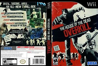 Nintendo Wii Replacement Game Case and Cover House of the Dead Overkill, The