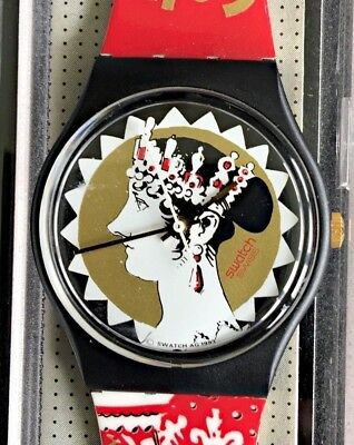 Nos New Aiglette Gb159 Swatch Watch Watch Vintage Old Stock
