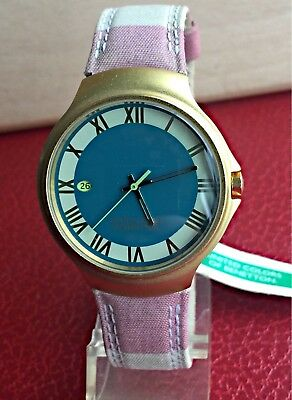 United Colour of Benetton Watch Vintage Watch New Nos Old Stock Woman